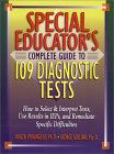Complete Guide to 109 Diagnostic Tests book cover